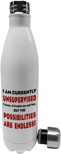 750ml I Am Currently Unsupervised
